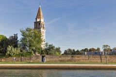 Campiello SAN Michele Arcangelo στο νησί Mazzorbo, Ιταλία Στοκ φωτογραφία με δικαίωμα ελεύθερης χρήσης