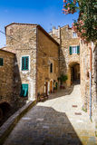 Campiglia Marittima is a comune (municipality) in the Italian re Stock Photo