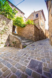 Campiglia Marittima is a comune (municipality) in Tuscany Royalty Free Stock Image