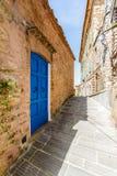 Campiglia Marittima est un vieux village en Toscane, Italie Image libre de droits