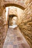 Campiglia Marittima est un vieux village en Toscane, Italie Photographie stock