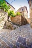 Campiglia Marittima ist ein comune (Stadtbezirk) in Toskana lizenzfreies stockbild