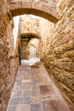 Campiglia Marittima is an old village in Tuscany,  Stock Photography