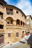 Campiglia Marittima is an old village in Tuscany, Italy Stock Images