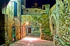 Campiglia Marittima, Toskana - Italien Stockbilder