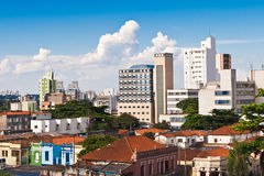 Campinas,Brazil. View to the city of Campinas, Brazil stock images
