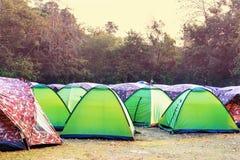 camping stock fotografie