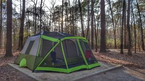 camping royalty-vrije stock afbeelding