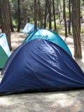 At the camping Royalty Free Stock Photos