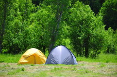 Camping Royalty Free Stock Images