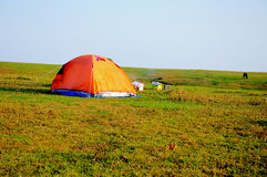 Camping. Point in guizhou china Stock Photography