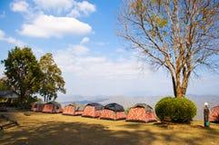 Camping Photographie stock libre de droits