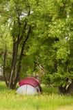 camping royalty-vrije stock fotografie