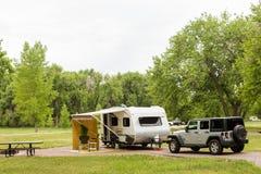 camping royalty-vrije stock foto