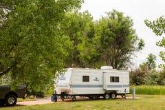 camping stock afbeeldingen