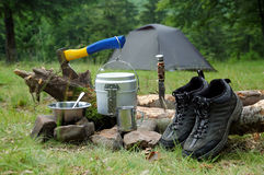 The camping Royalty Free Stock Image