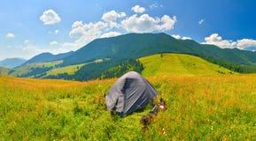camping Imagenes de archivo