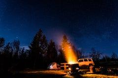 camping stock foto