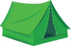 Camping. Accessory to protect and adventure in camping tent Royalty Free Stock Photography
