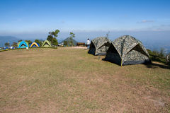 Camping area at SriNan National Park Royalty Free Stock Photo