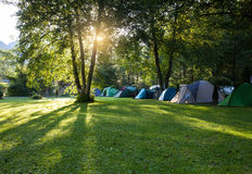 Camping area Royalty Free Stock Image