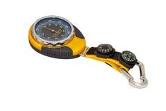 Camping barometer. Royalty Free Stock Image