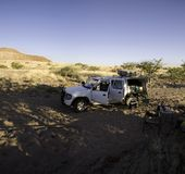 Camping in the Brandberg Stock Images