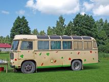 Camping bus Royalty Free Stock Photo