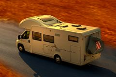 Camping car Stock Photos