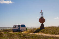 Camping-car de l'Uruguay Photos stock