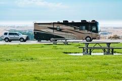 Camping-car de rv photo stock