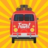 Camping-car Vacances d'été Photographie stock