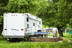 Camping-cars photographie stock
