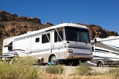 camping-cars Photographie stock libre de droits