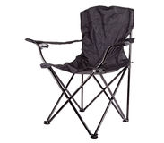 Camping Chair Stock Image