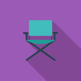 Camping chair stock illustration