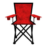 Camping Chair on White Royalty Free Stock Images
