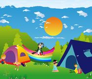 For camping Royalty Free Stock Images