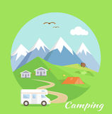 Camping Concept Stock Images
