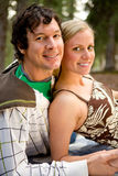 Camping Couple Relax Stock Photography