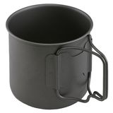 Camping cup Stock Photography