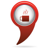 Camping cup vector icon Stock Photography