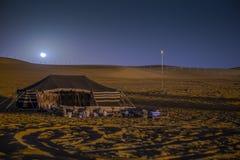 Camping de désert Photos stock