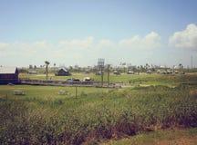 Camping de plage de Quintana Photo stock