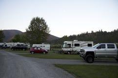 Camping de rv Fotos de archivo