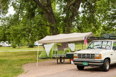 Camping Royalty Free Stock Photos