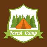 Camping design. Stock Photo