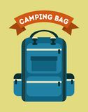 Camping design Royalty Free Stock Photos