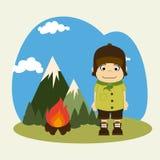 Camping design Stock Photo