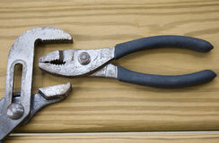 Camping down on pliers Stock Photography